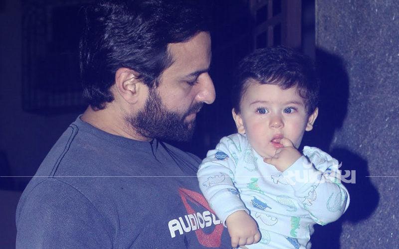 Guess करिए कि तैमुर अपने पिता सैफ अली खान को क्या कह कर पुकारते हैं...