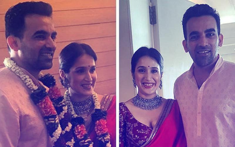 Sagarika Ghatge & Zaheer Khan ARE NOW MARRIED!