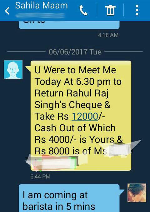 sahila chadha varsha bhagwani conversational messages