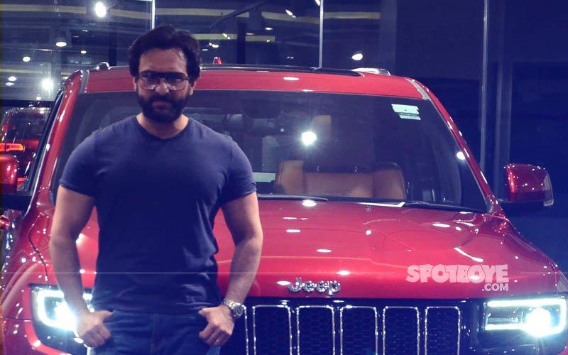 Saif Ali Khan Just Bought A Swanky New Car For Taimur Ali Khan Worth Rs 1.30 Crore!