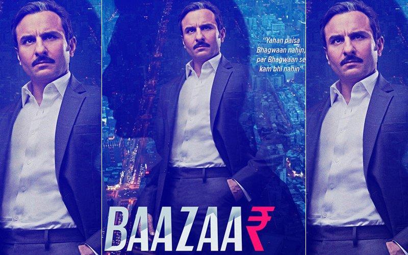 Baazaar Poster Out: Saif Ali Khan's Fierce Look Packs A Punch