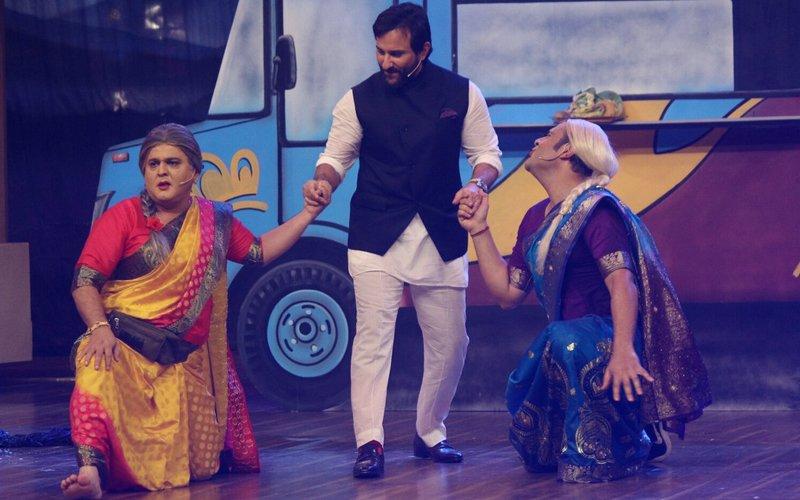Saif Ali Khan Promotes Chef On Krushna Abhishek's The Drama Company