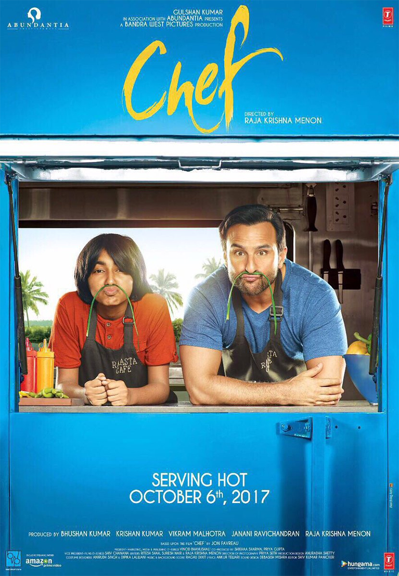 saif ali khans chef poster