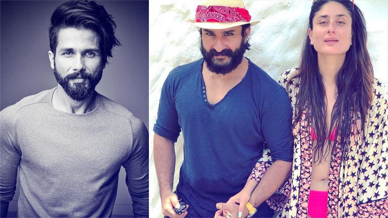 Shahid Kapoor Challenges Ex-Girlfriend Kareena Kapoor's Hubby Saif Ali Khan!