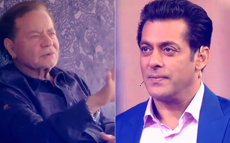 Video: Salman Khan Gets Emotional While Talking To Salim Khan