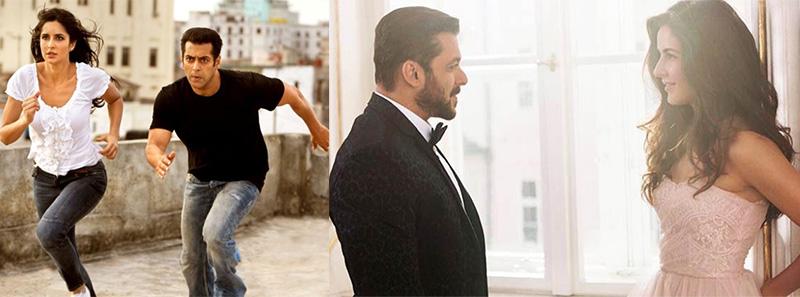 salman khan and katrina kaif in ek tha tiger and tiger zinda hai