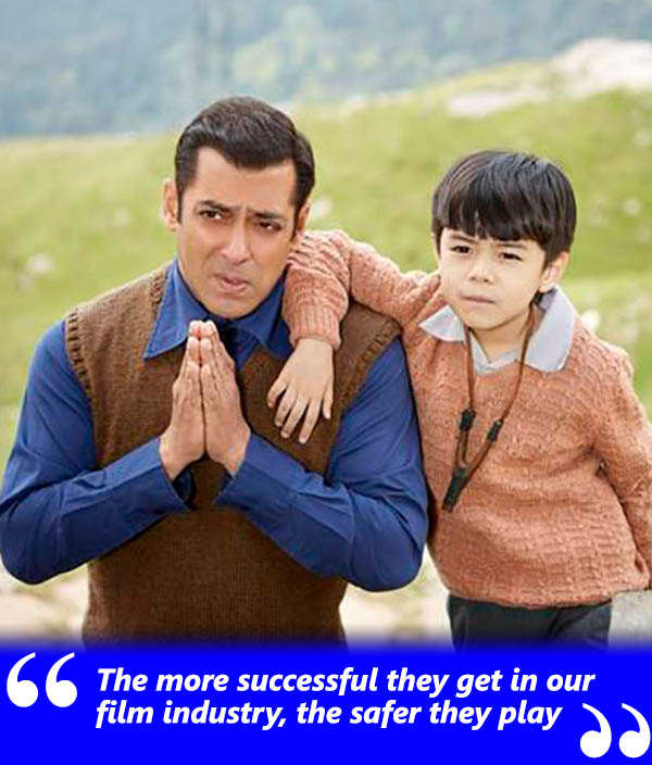 salman khan and martin ray tangu in a still from tubelight