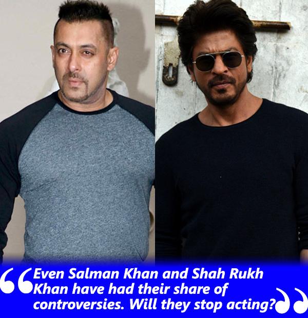 salman khan and shah rukh khan controversies