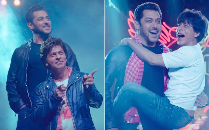 Zero Eid Teaser Shah Rukh Khan Salman Khan Come Together To Wish Fans