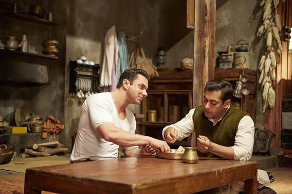 salman khan and sohail khan in a still from tubelight