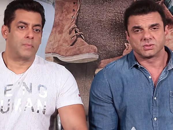 salman khan and sohail khan speak to media during tubelight promotion