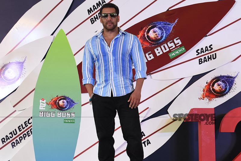 salman khan at the bigg boss 12 launch event