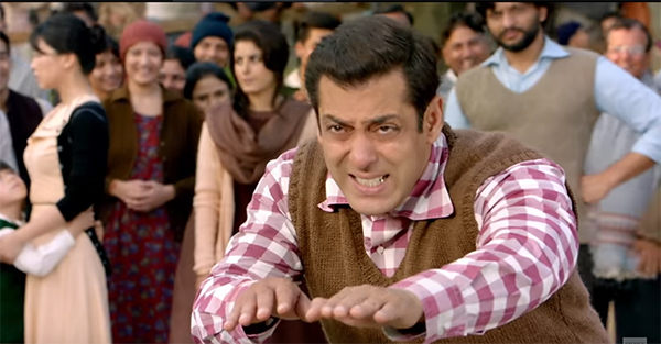 salman khan creating earth quake in his latest movie tubelight