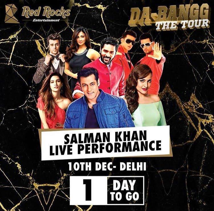 salman khan dabangg tour in india
