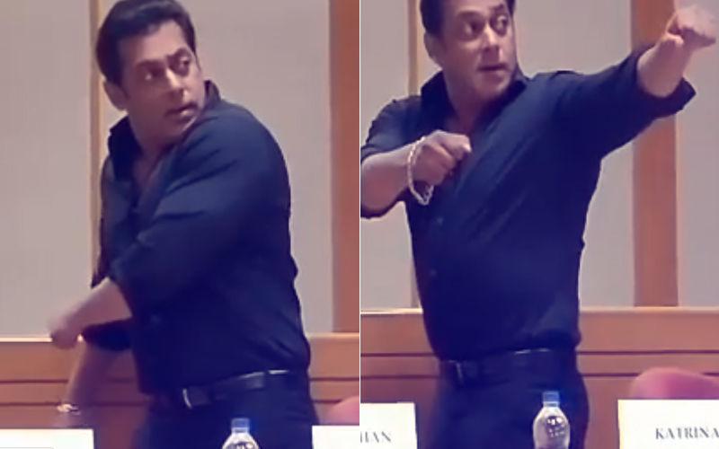Watch: Salman Khan Just Can't Get The #BloomFlossChallenge Right