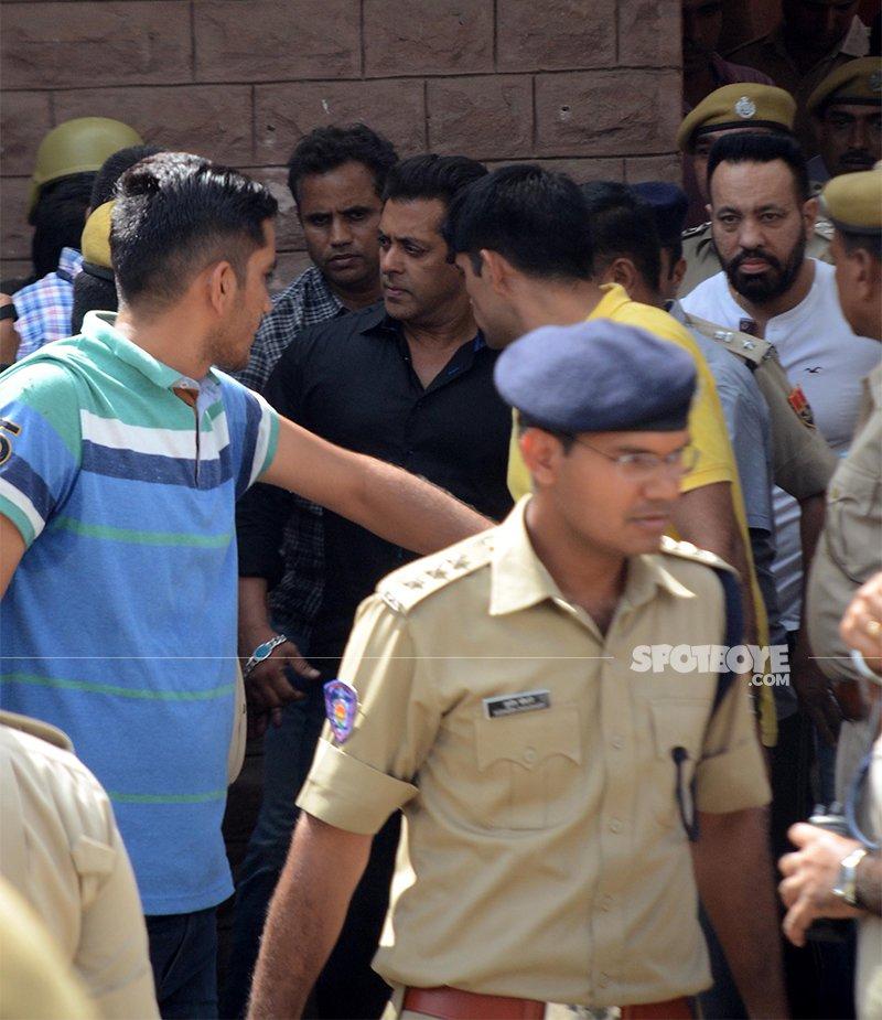 salman khan in police custody