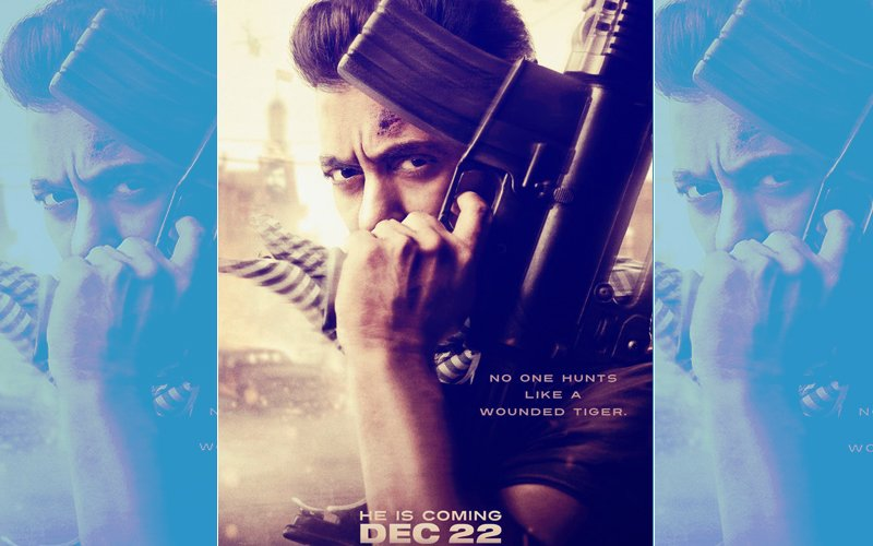 TIGER ROARS AGAIN: Salman Khan Looks Fierce In Tiger Zinda Hai First Look