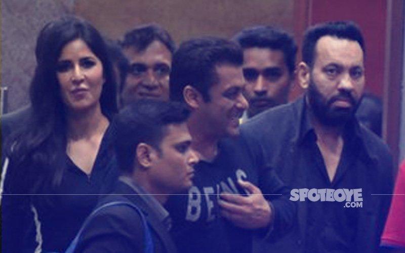 SNAPPED: Katrina Kaif & Salman Khan Post Their Performance At ISL