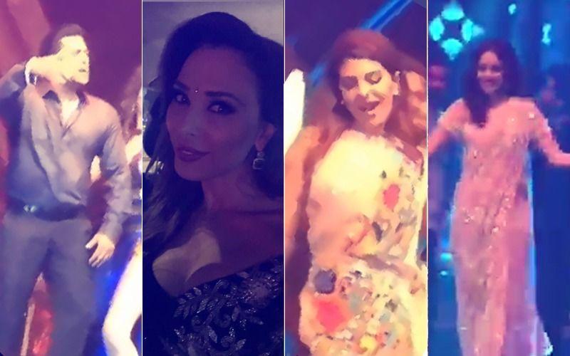 Poorna Patel Sangeet, Inside Videos: Salman Grooves, Iulia Whistles; Jacqueline & Nushrat Give Sizzling Hot Performances