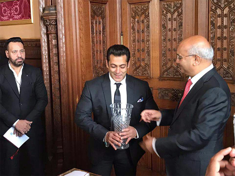 Image result for Salman Khan receives Global Diversity Award