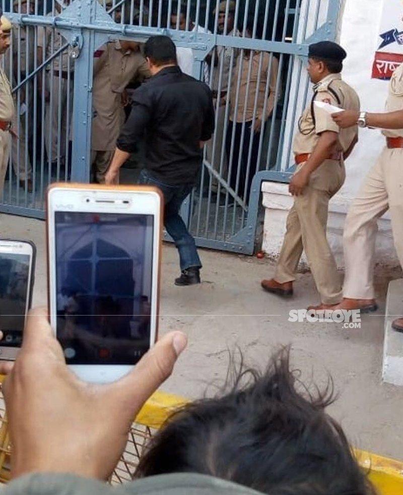 salman khan sent to police custody