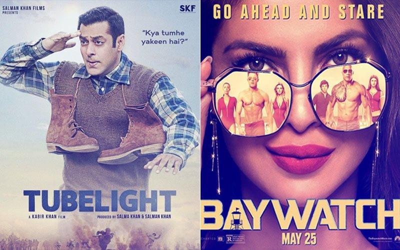 Salman Khan's Innocence In Tubelight Vs Priyanka Chopra's Seduction In Baywatch