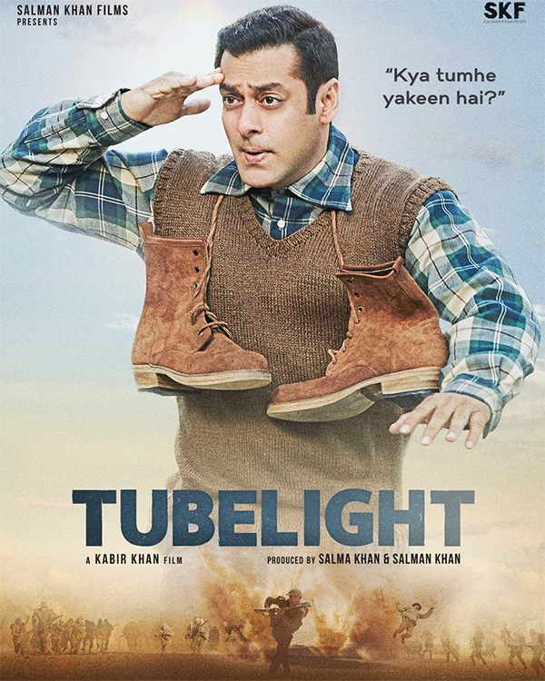 salman khan upcoming tubelight film poster