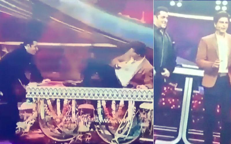 Friendship Day से पहले टीवी शो दस का दम 3 में सलमान का साथ देने पहुंचे शाहरुख खान, देखे वीडियो
