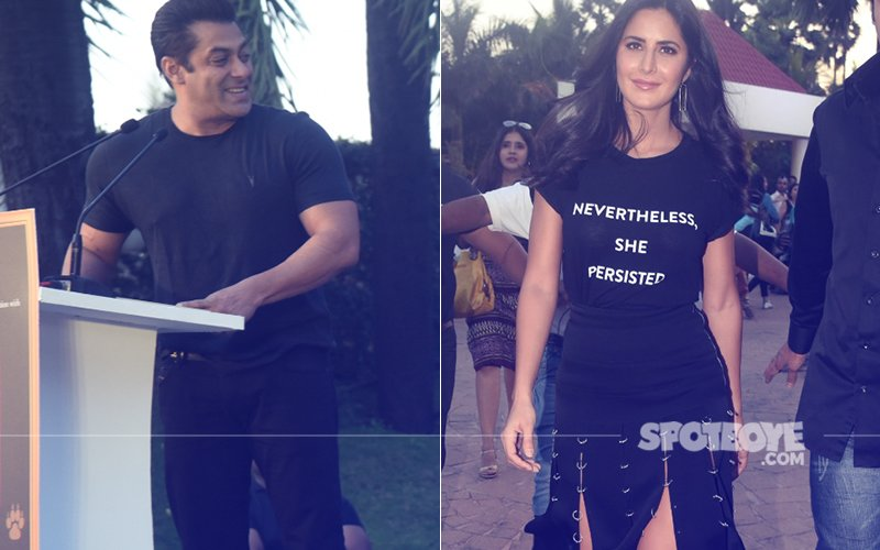 Salman Khan & Katrina Kaif Spotted In Bandra. NO, They Were Not Promoting Tiger Zinda Hai