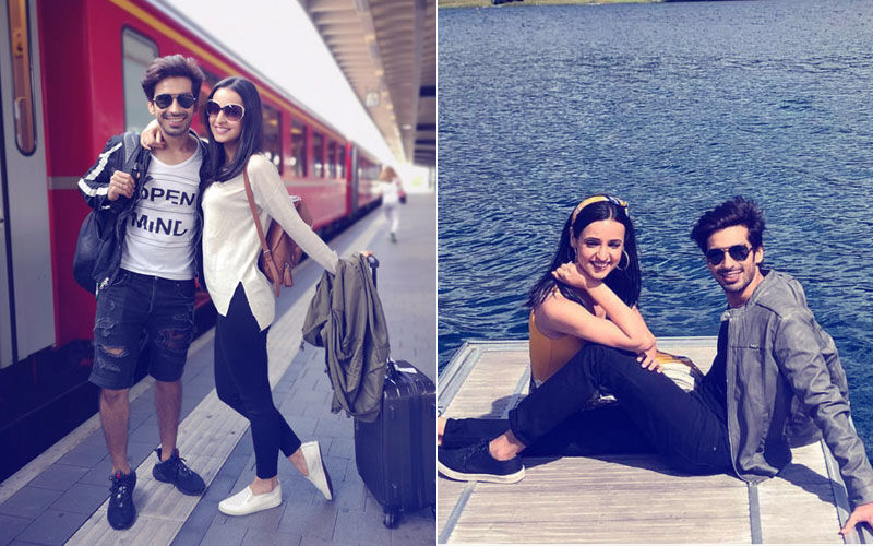 Sanaya Irani & Mohit Sehgal's Romantic Pics From Their Swiss Holiday