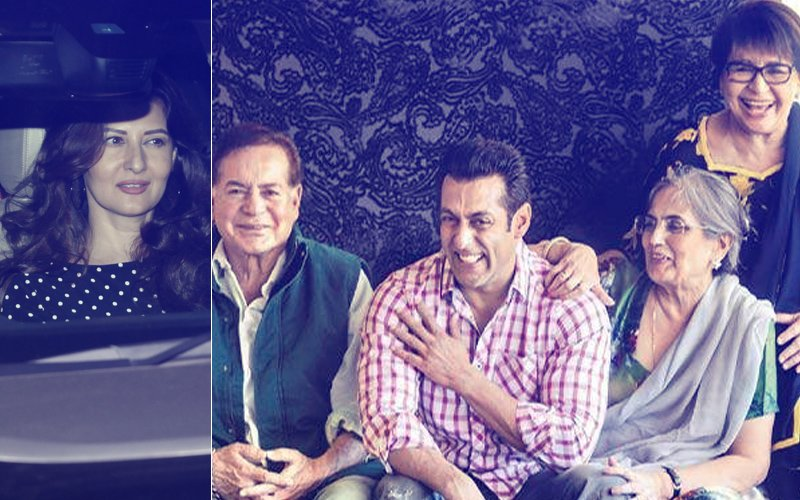 Sangeeta Bijlani Makes A COMEBACK To The Khan-Daan; Attends Salim Khan's Birthday Dinner