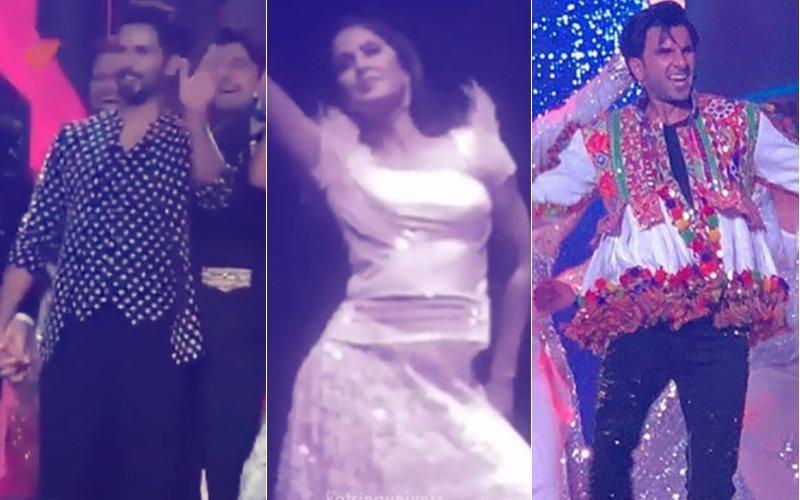 Video: दिल्ली में एक संगीत सेरेमनी में जम कर नाचे शाहिद कपूर, रणवीर सिंह और कैटरीना कैफ