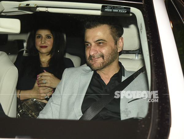 Sanjay Kapoor With Maheep Kapoor