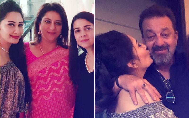 Video: Maanayata Celebrates Birthday With Sanjay Dutt, Kids & Family