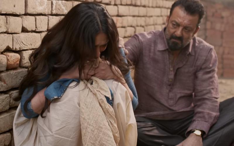 sanjay dutt and aditi rao hydari in bhoomi