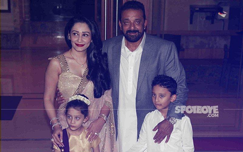 B-Town Celebrates Diwali With Sanjay Dutt & Maanayata
