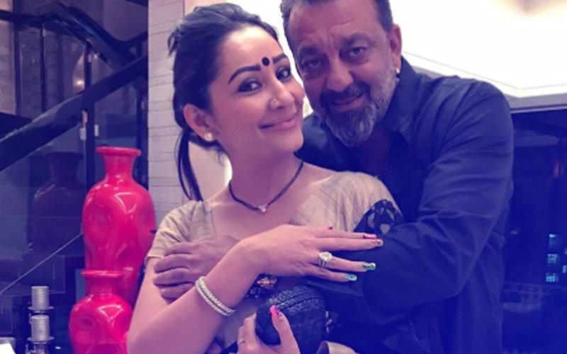Sanjay Dutt Is Missing Something In His Wife Maanayata Dutt...