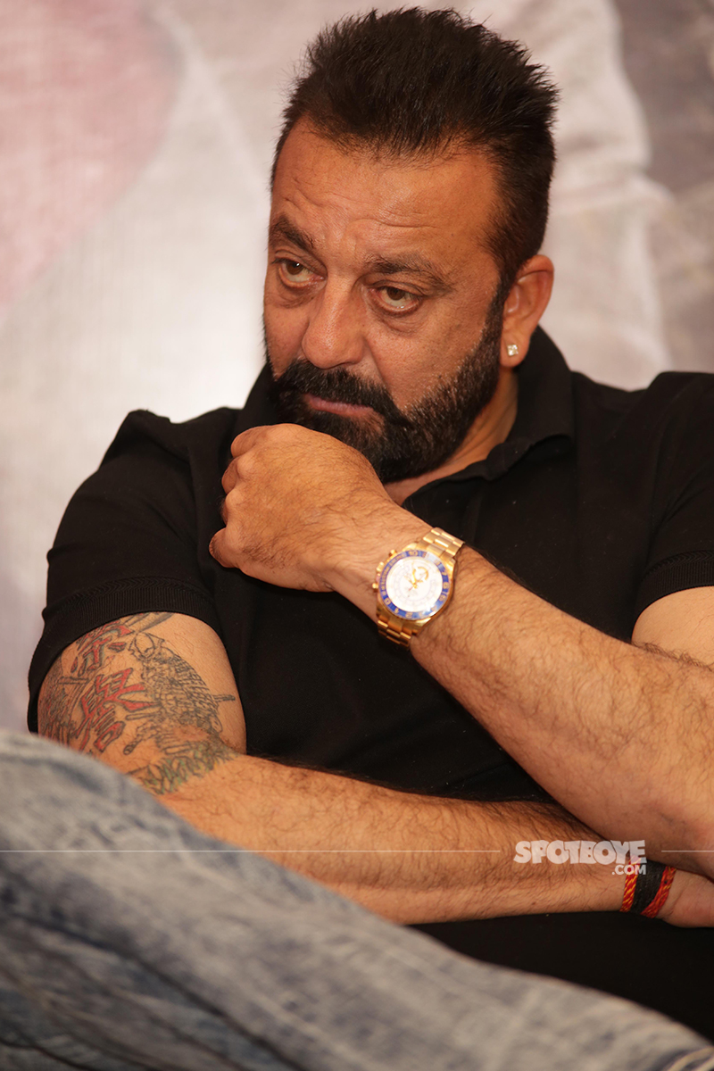 sanjay dutt snapped at an event