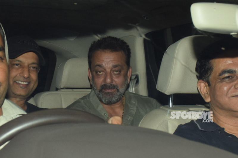 sanjay dutt snapped at sanju screening