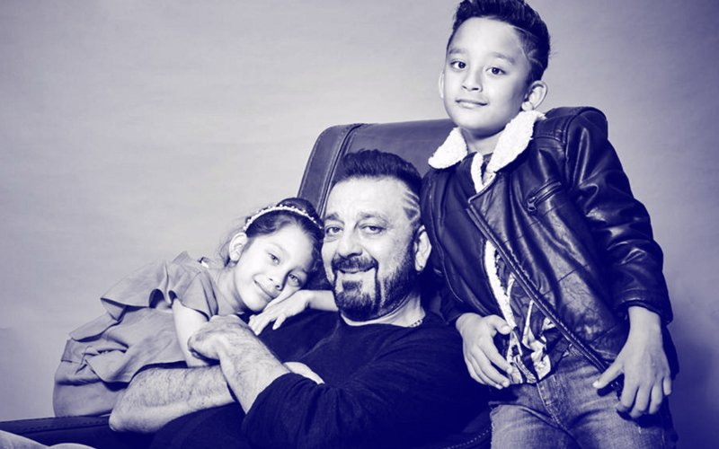 PICS From Sanjay Dutt's Latest Photo Shoot With Kids Shahraan & Iqra Are Aww-dorable!