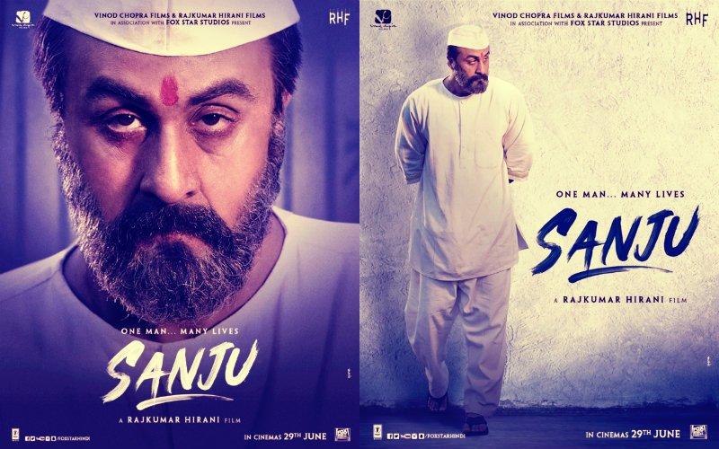 'संजू' का नए पोस्टर हुआ रिलीज़, संजय दत्त के कैदी लुक में नज़र आए रणबीर कपूर