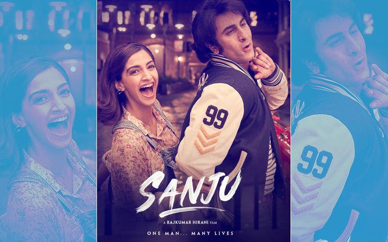 संजू के नए पोस्टर में दिखा रणबीर कपूर और सोनम कपूर का रोमांस