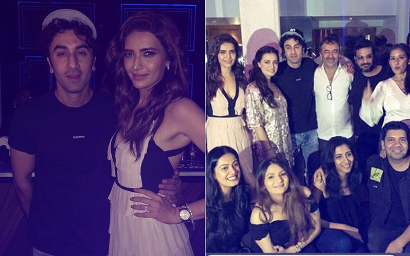 Inside Pics: Ranbir Kapoor, Dia Mirza, Karishma Tanna At Sanju Success Party