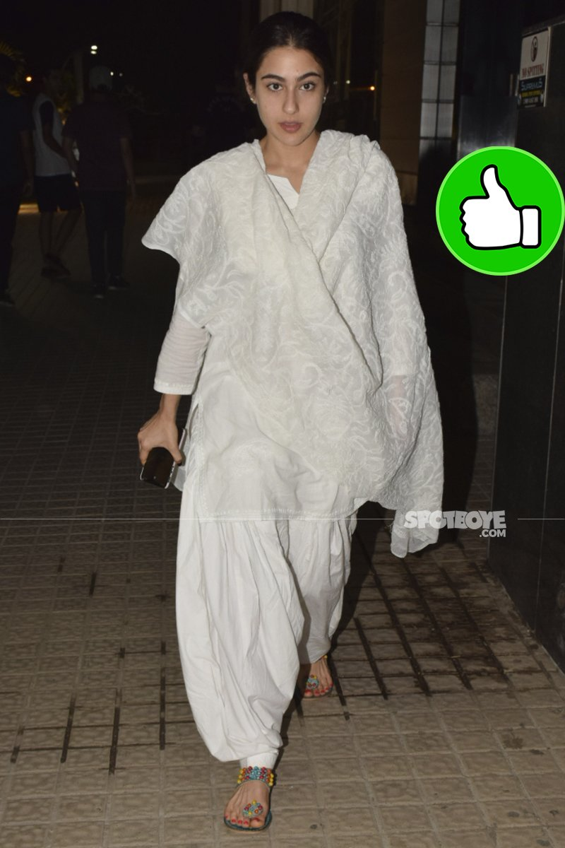 sara ali khan also snapped at pvr juhu