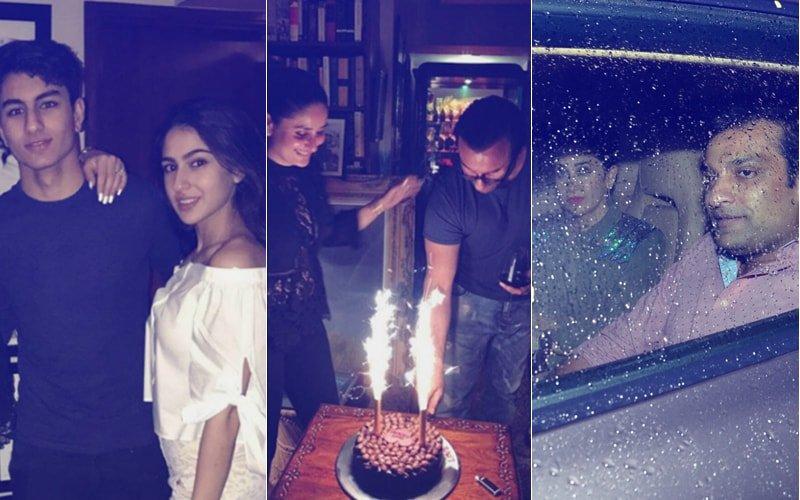 Saif Ali Khan Turns 47! Sara, Ibrahim, Soha, Karisma Kapoor & Sandeep Toshniwal Ring In Nawab Pataudi's Birthday