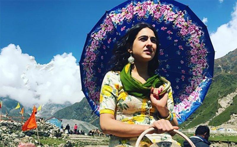 sara ali khan in kedarnath