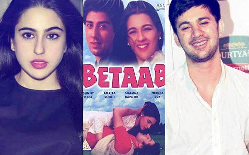 क्या अमृता सिंह की डेब्यू फिल्म 'बेताब' के रिमेक में नज़र आएंगी बेटी सारा अली खान?