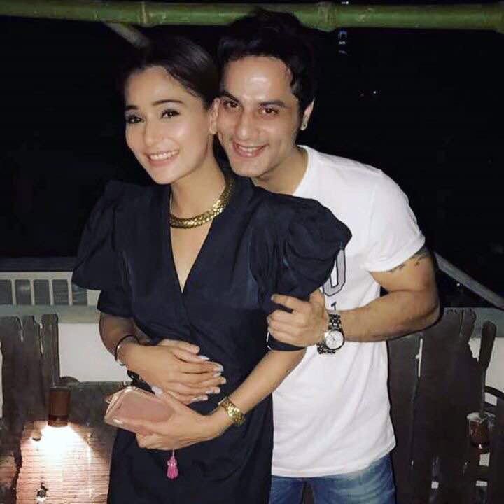 sara khan with sailesh gulabani