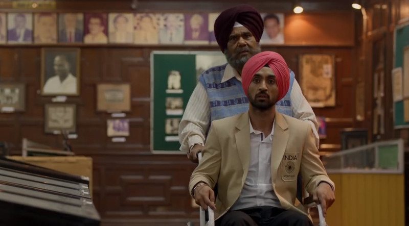 satish kaushik and diljit dosanjh in soorma