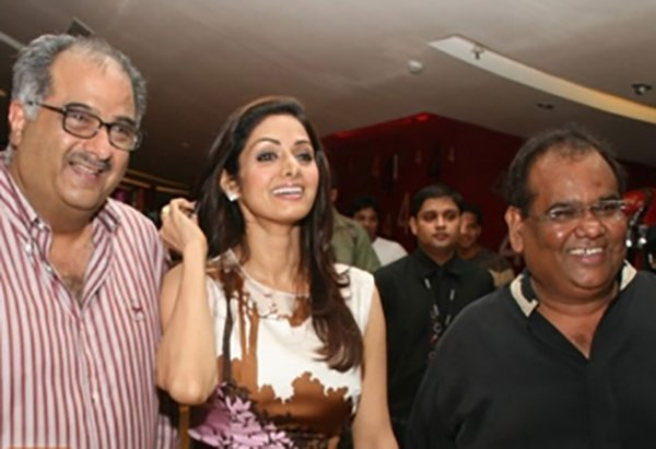 Satish Kaushik Sridevi And Boni Kapoor
